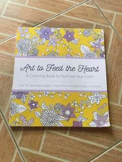Art To Feed The Heart Coloring Book