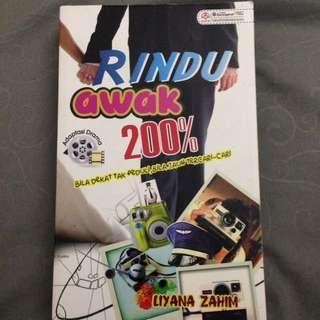 Novel Rindu awak 200%