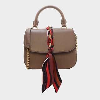 Charles n Keith Scarf Bag