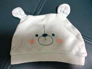 ♻️環保價♻️可愛熊熊BB帽 初生-3個月⭐️2件8折