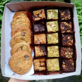 Cookies and Brownies Combo