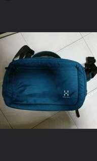 Rare Mint Haglofs Connect Lap 15 Messenger Covertible Bag