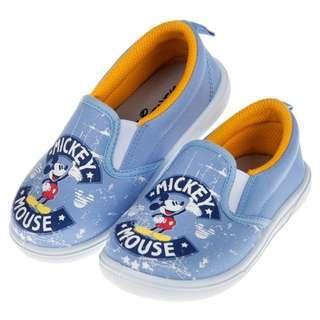 Disney迪士尼米奇藍色塗鴉輕便鞋