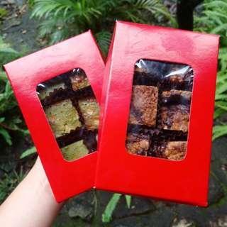 Brownies - Matcha, Red Velvelt, Walnut, Revel bar