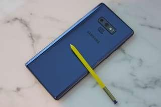 Note 9 - Blue & Gear Fit2 Pro