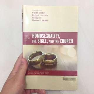 🚚 Two Views on Homosexuality, the Bible, and the Church