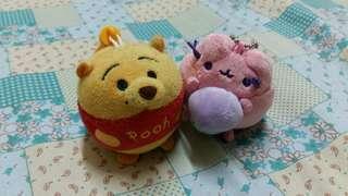 Pooh and Pusheen tsum tsum