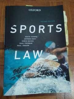 BX3120 - Sports Entertainment Law