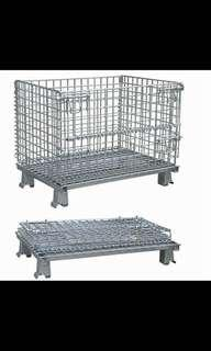 Stackable Pallet / Wire Mesh Cage Container