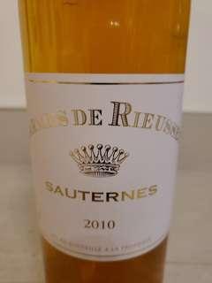 Carmes De Rieussec Sauternes 2010