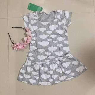 BN Dress dor 3-4 years old kiddo