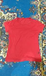 Kaos Merah Stretch #oktosale