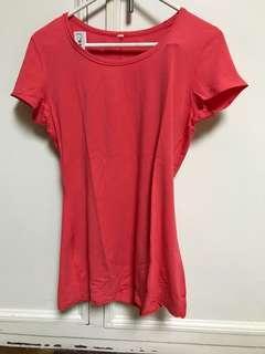 Lululemon Athletic shirt (stretchy fabric )