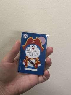 BN Doraemon Pirates Ezlink Card
