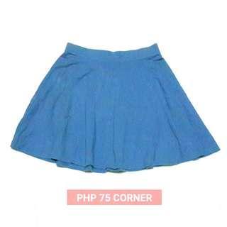F21 Denim Blue Skirt