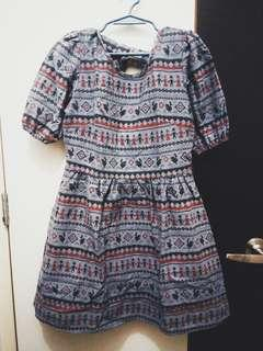 Never been kissed aztec dress