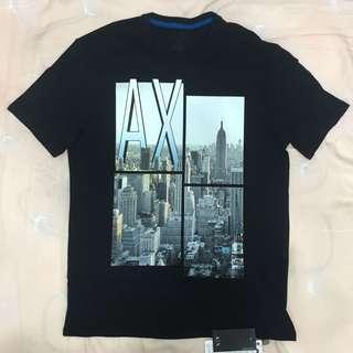 【咪嚕柯】短T Tshirt 城市圖 正品 AX Armani Exchange 亞曼尼