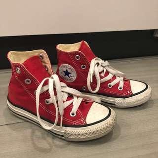 Converse Kids High Cut - red