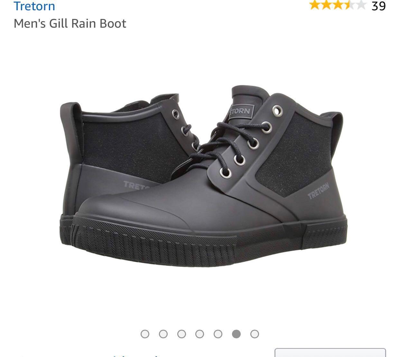 694e830b9 包順豐) 全新水鞋Tretorn men's gill rain boot, Men's Fashion, Men's ...