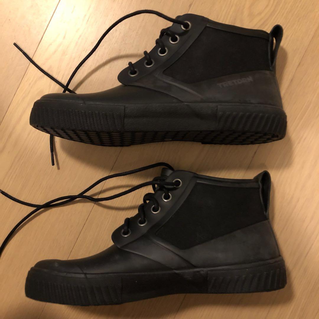 15df90661 (包順豐) 全新水鞋Tretorn men's gill rain boot, Men's Fashion, Men's Footwear on  Carousell