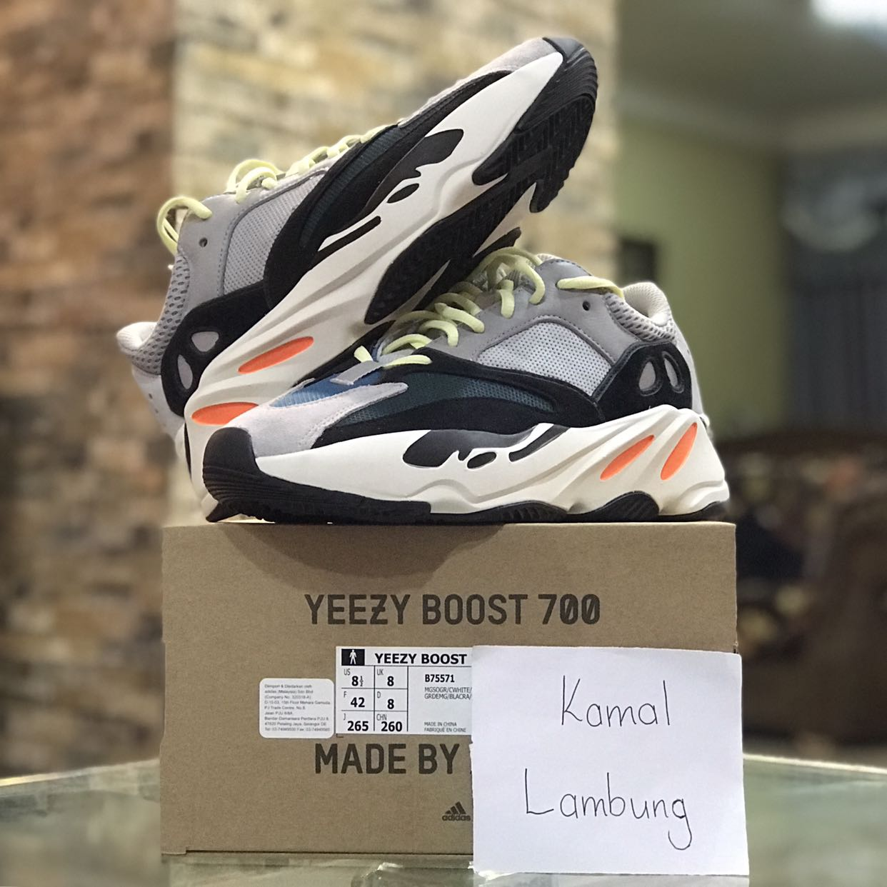 "96252f774 adidas Yeezy Boost 700 ""Wave Runner"""