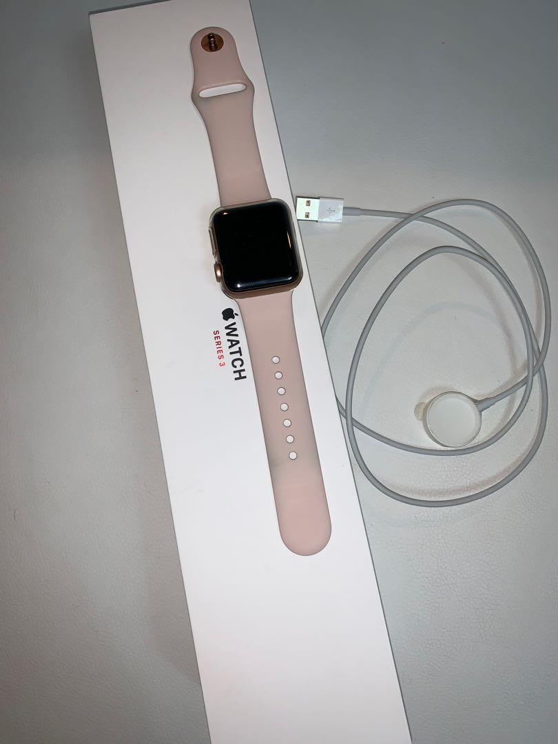 Apple watch series 3 gold gps cellular 38mm