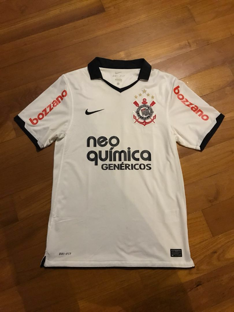 Authentic Corinthians Jersey Home size S Nike Brazil 8db09cd09