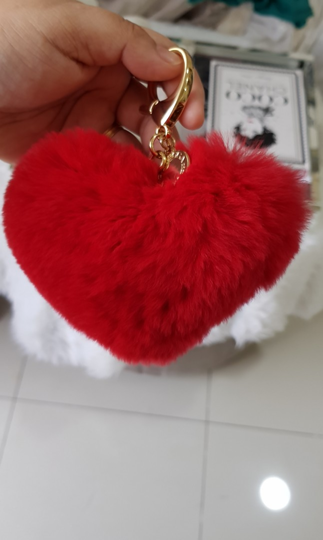 50dcb9d343 ... Authentic Rebecca Minkoff Heart Bag Charm Luxury Accessories on