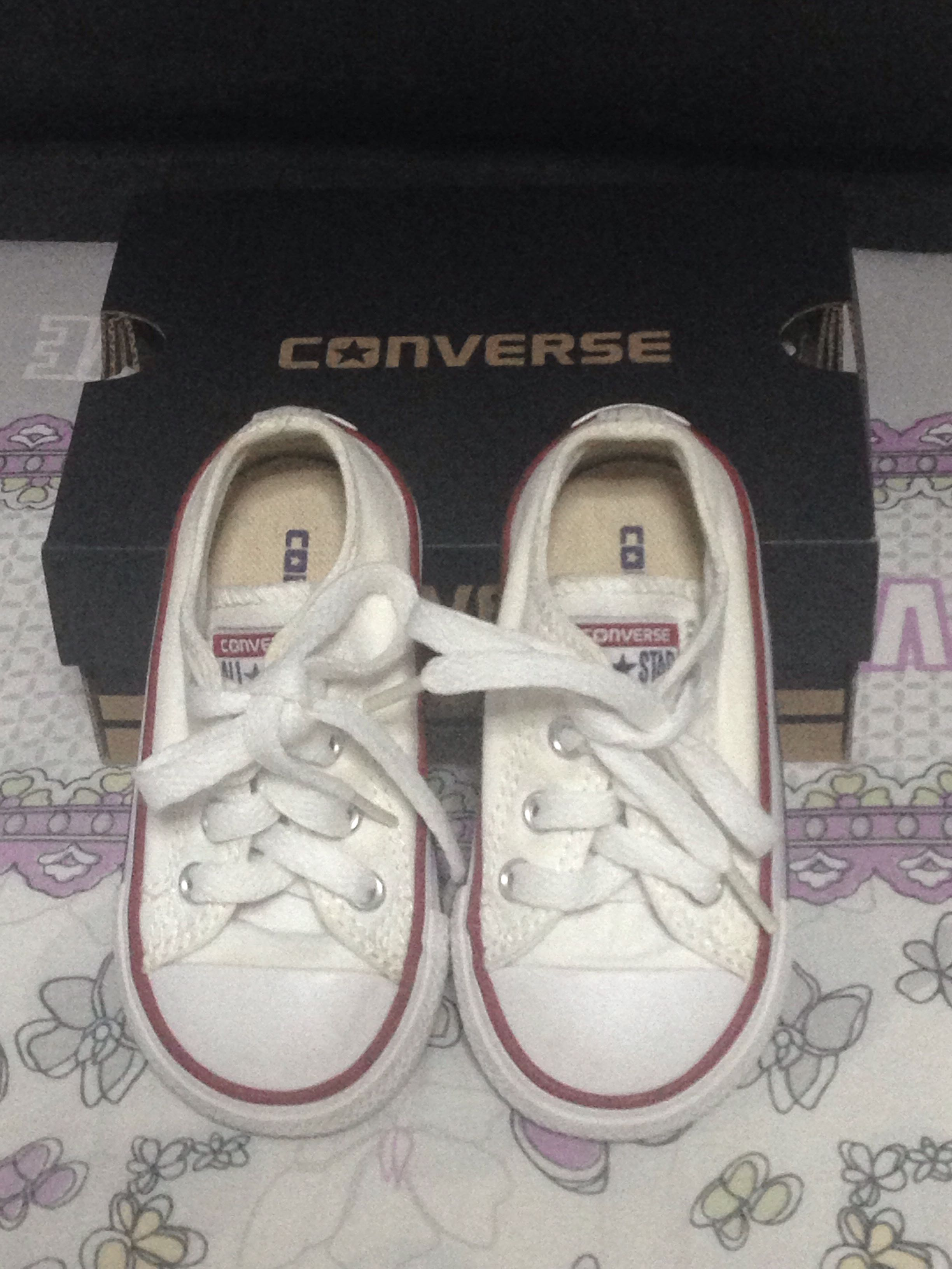 d3f843183246 Baby Converse Shoes (Pre loved)