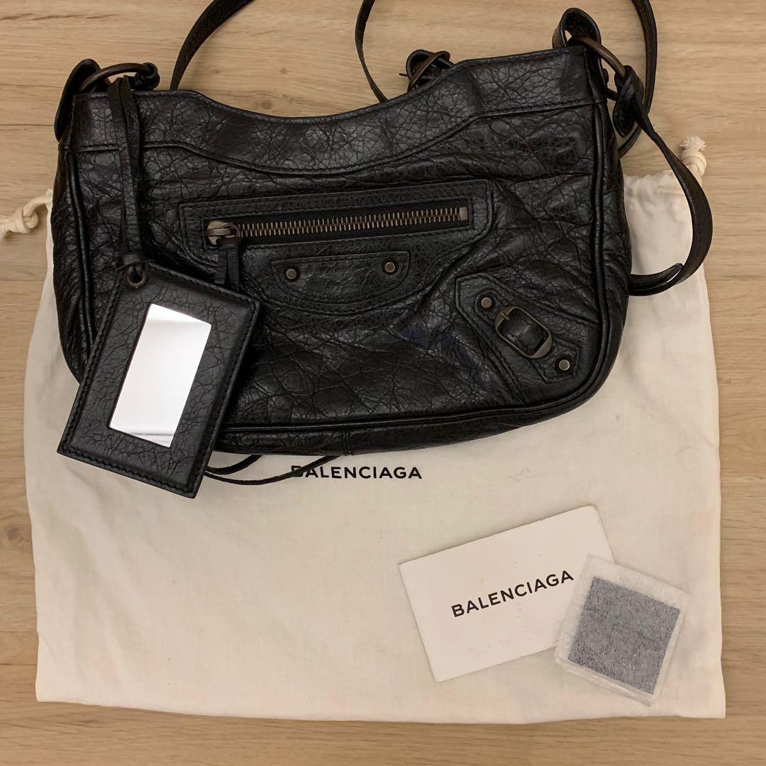 e1642b95f Balenciaga Hip Leather Crossbody Bag, Luxury, Bags & Wallets, Sling ...