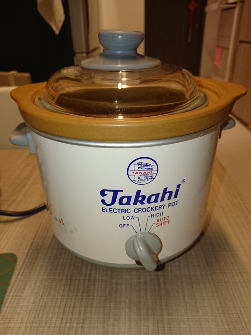 Best Price In Market Like New Takahi Electric Crockery Pot 12 L Slow Cooker Home Appliances