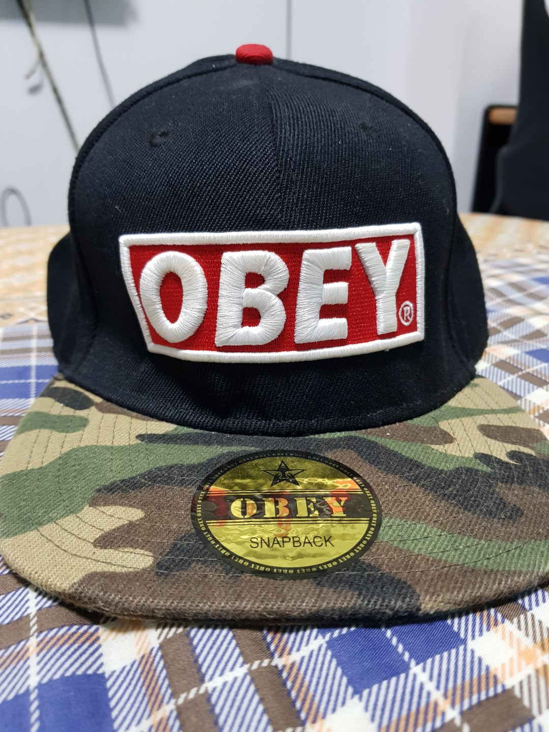 Brand new obey snapback mens fashion clothes others on carousell jpg  1080x1440 Obey snapback 474908d0a544