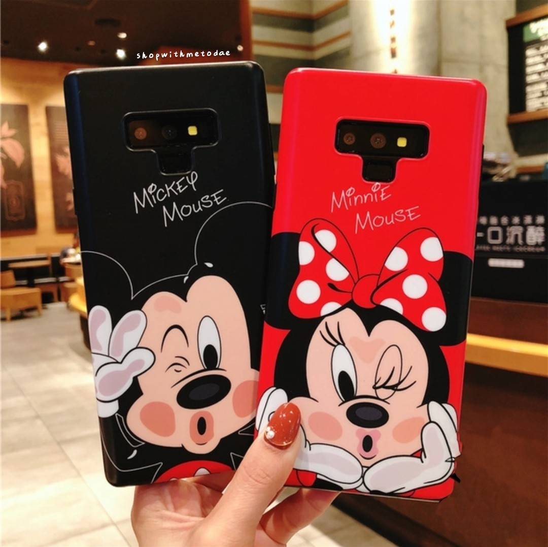 new arrive a2771 5d40c Disney Mickey Minnie Samsung Note 9 / Note 8 / S9plus casing