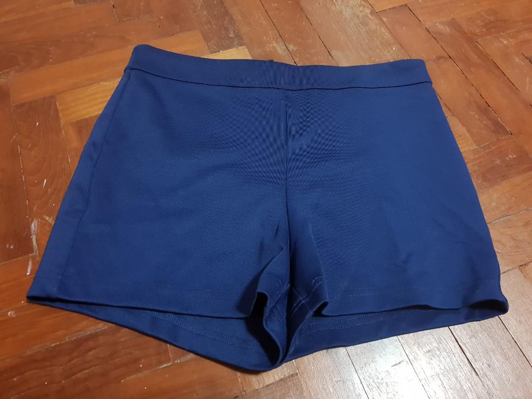 c05b4d316d F21 blue shorts, Women's Fashion, Clothes, Pants, Jeans & Shorts on ...