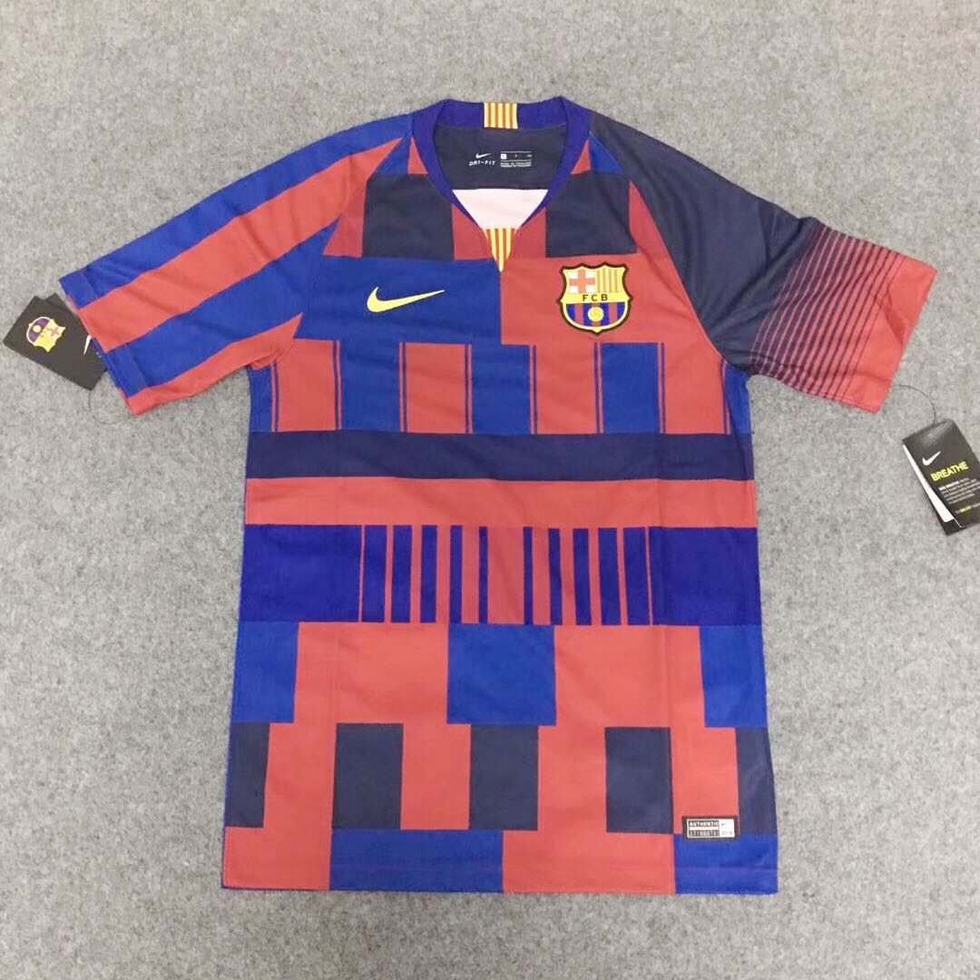 huge discount b0727 0bd37 FC Barcelona 20th anniversary kits