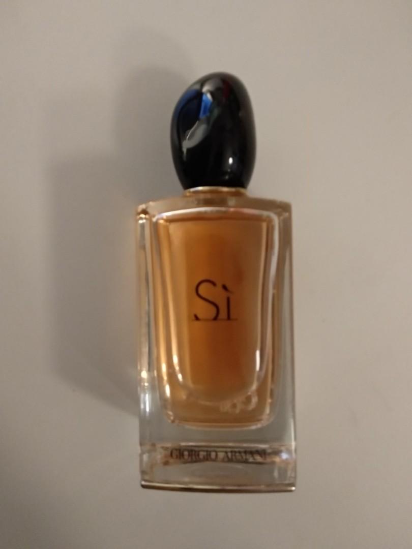Girogio Armani Si Edp 100ml Health Beauty Perfumes Deodorants
