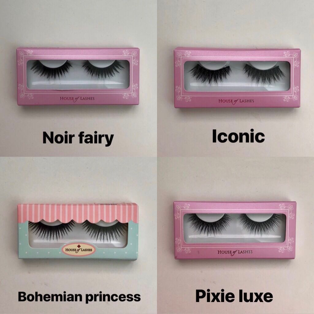 1e1f4dad599 House of Lashes (Noir fairy, Iconic, Bohemian Princess, Pixie Luxe ...