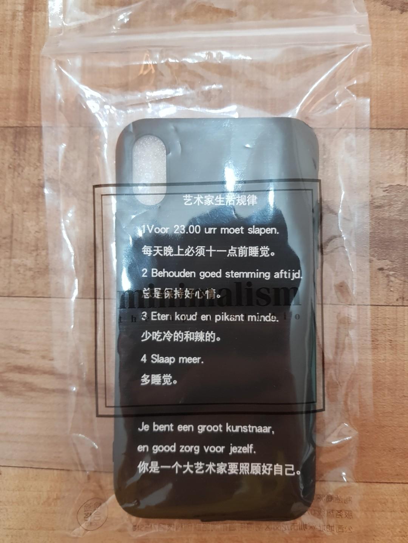 I phone x rubber case