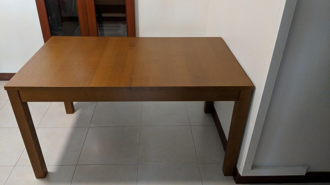 Ikea Expanding Table Furniture Tables Chairs On Carousell