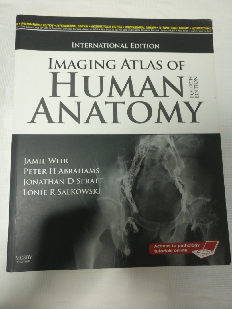 Imaging Atlas Of Anatomy Books Stationery Textbooks Tertiary On