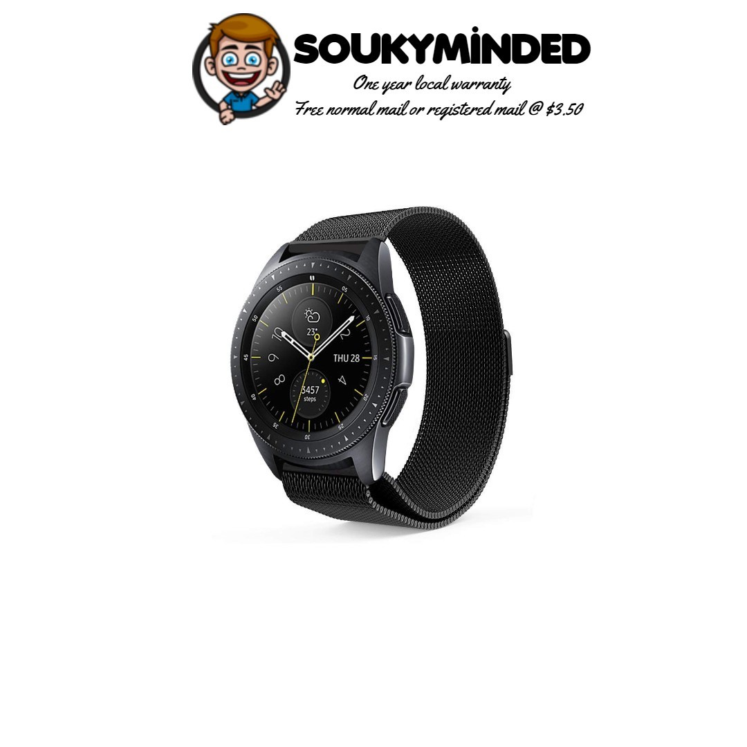 58c81f9bd IN-STOCK] Samsung Galaxy Watch (42mm) Bands, 20mm Milanese Loop ...