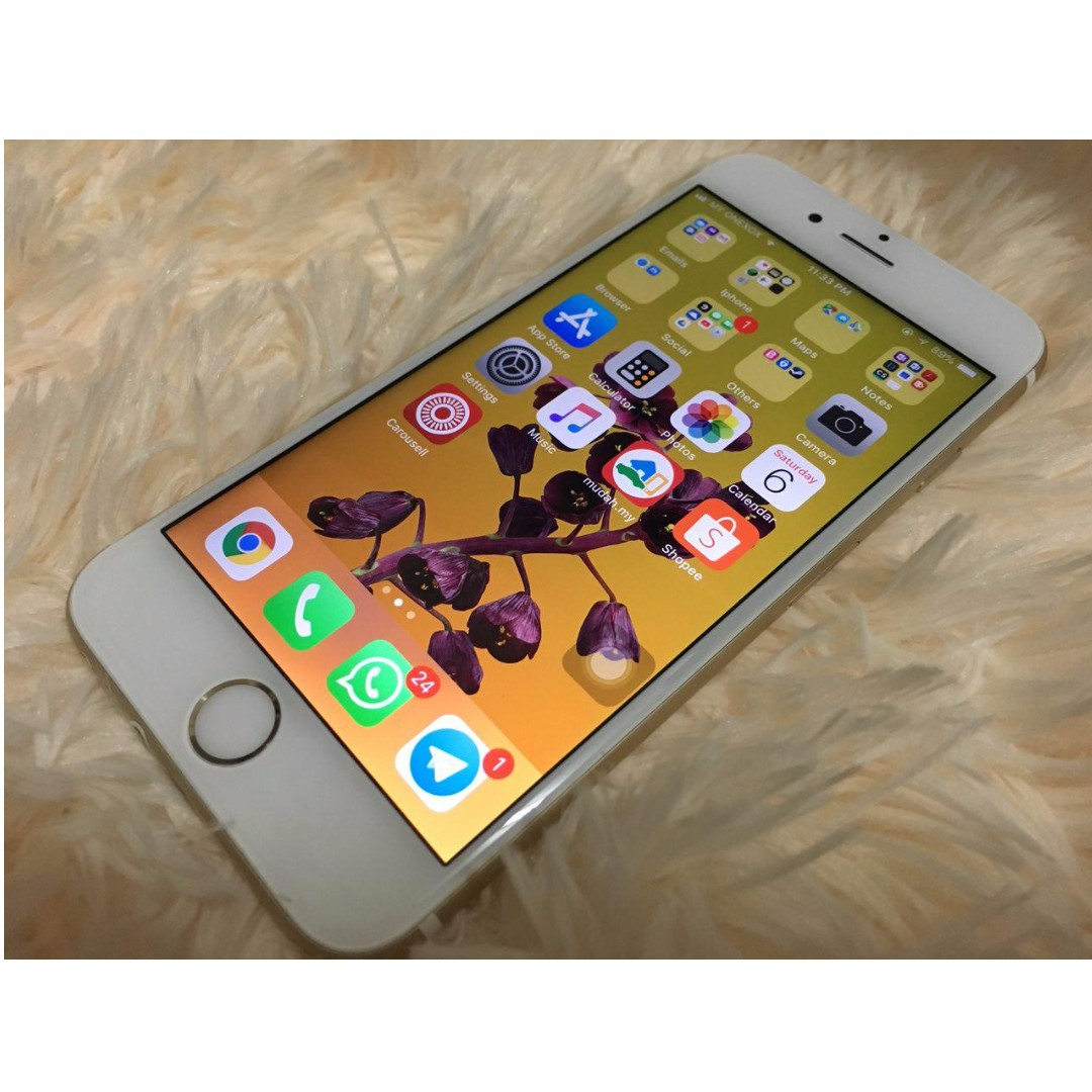 Iphone 6s 64gb Gold 100% Original Apple with IMEI