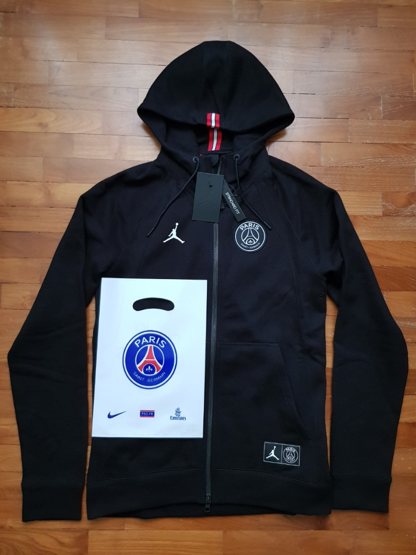 b2cb6e1a7 Jordan x PSG Wings Full Zip Hoodie (Limited Edition; Size L), Men's ...