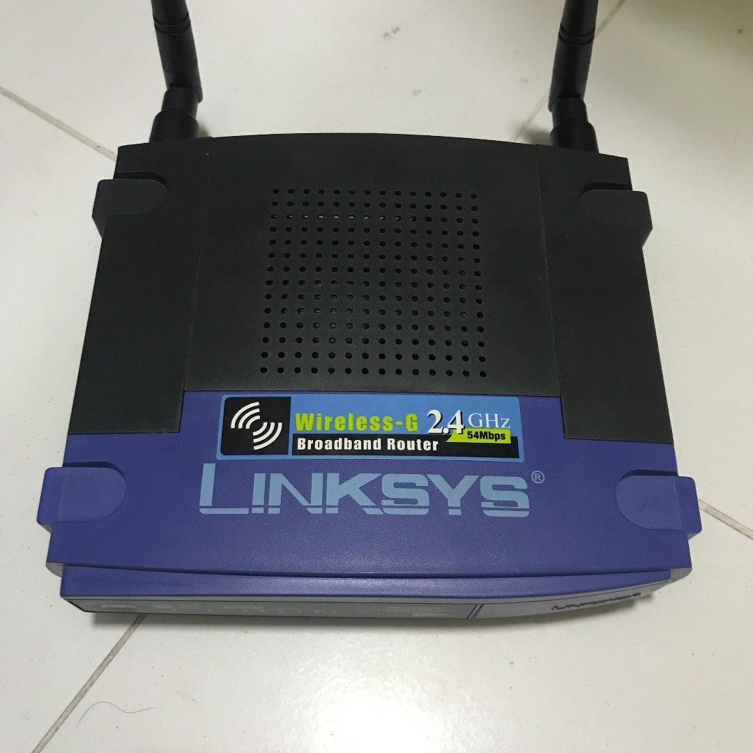 Linksys WRT54G, Vintage & Collectibles, Vintage Collectibles