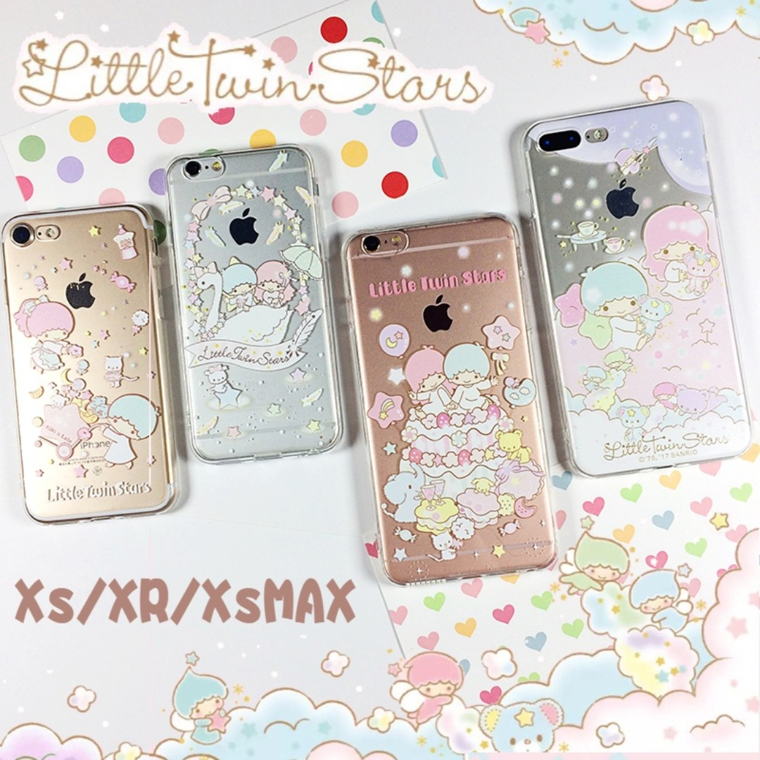 san francisco a023d 85bf8 Little twin stars v20 - case for iphone XS / XR/ XS MAX