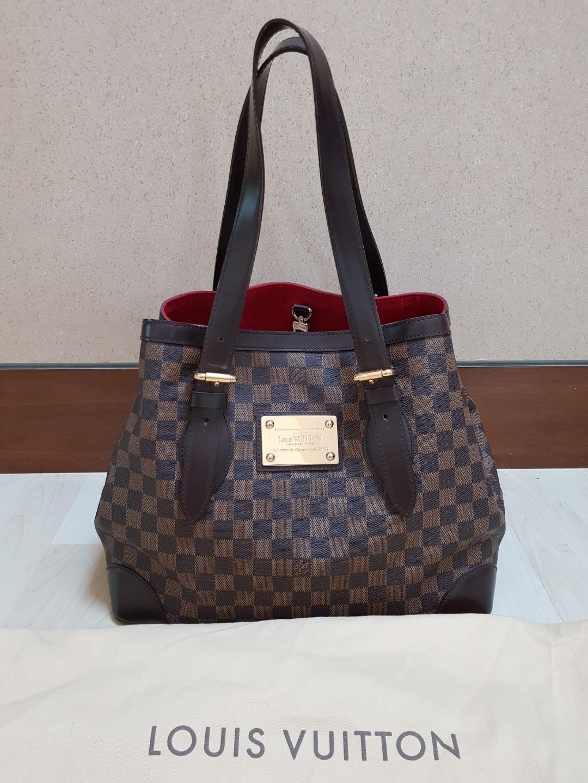 247ce40628d8e Authentic Louis Vuitton Hampstead GM