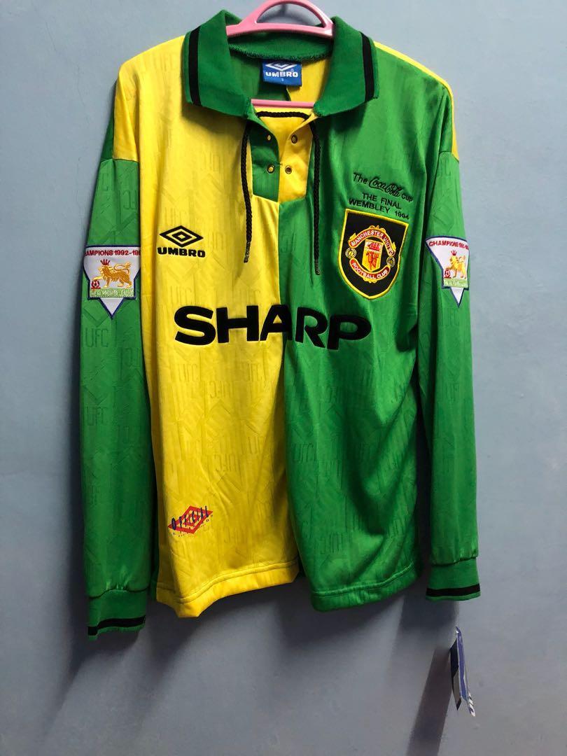 a2b15e819c6 Manchester United retro Newton Health jersey shirt CANTONA 7