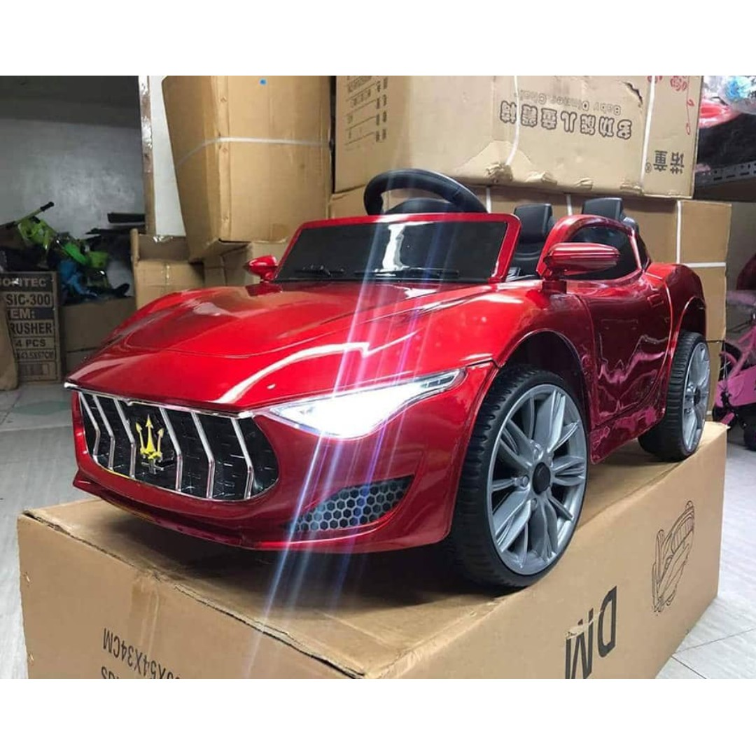 maserati fl-158 electric ride on toy car for kids, toys & games