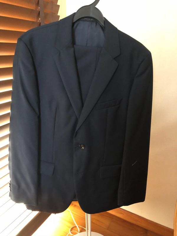 f3c7040ac7 Men Suit - HUGO BOSS, Men's Fashion, Clothes, Others on Carousell
