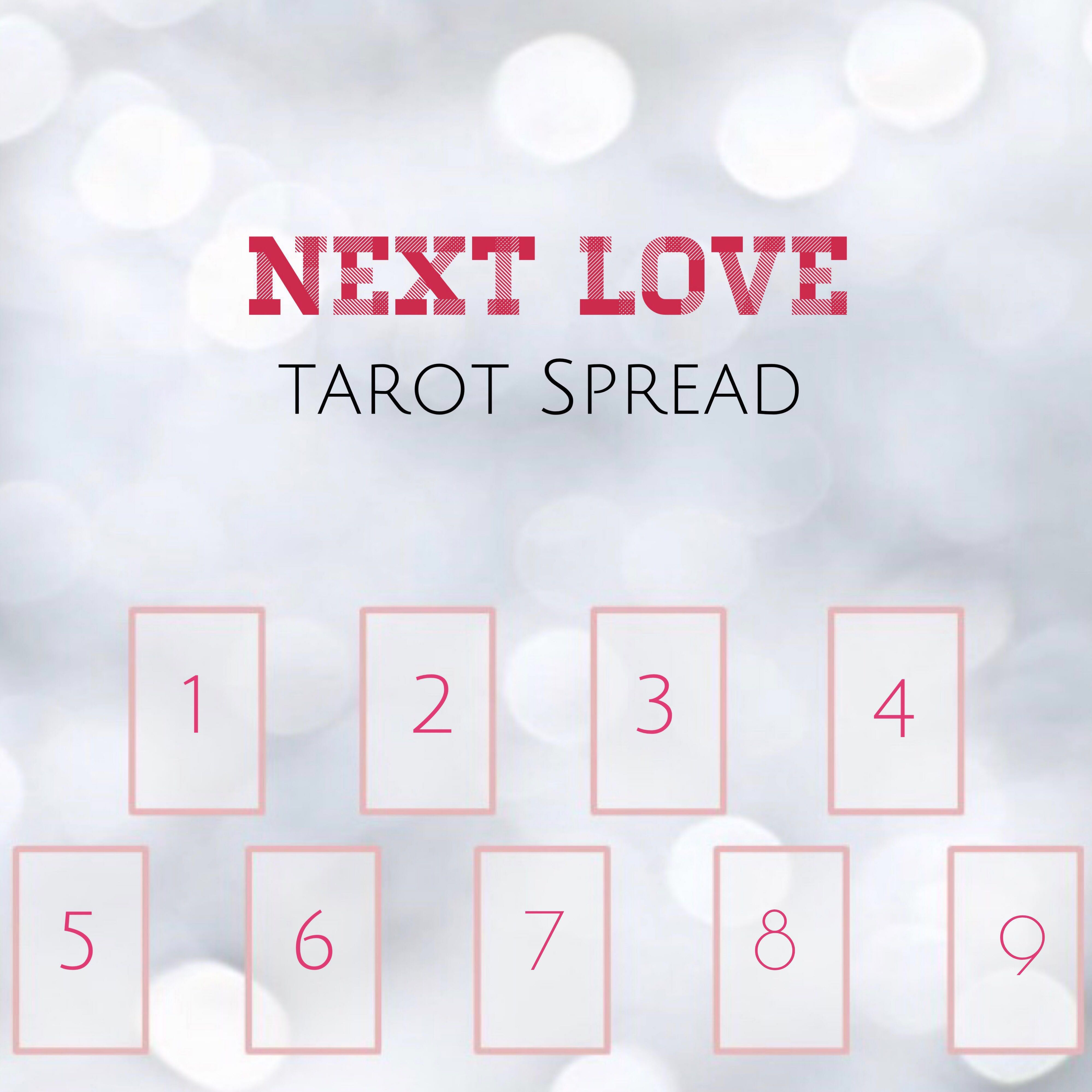 Next Love Spread 9 Cards Spread, Everything Else on Carousell